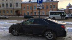 В Смоленске водителя оштрафовали на 5 тысяч рублей за парковку возле Арбитражного суда