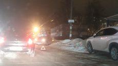 В Сети появилось видео с места тройной аварии на Киселевке в Смоленске