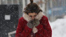 Сильный ветер и метель. Коротко о погоде в Смоленске на 12 января