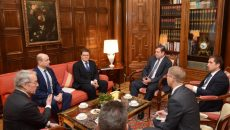 Алексей Островский провел деловую встречу с представителями немецкого бизнеса