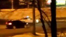 В Смоленске полиция устроила погоню за ВАЗ-2109