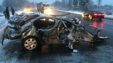 Страшная авария под Смоленском. Есть пострадавшие