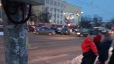 На перекрёстке возле физакадемии в Смоленске произошло массовое ДТП