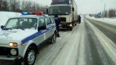 Под Смоленском СОБР и полиция устроили погоню за грузовиком с контрабандой