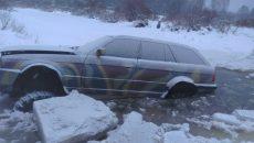 Под Смоленском умельцы сделали внедорожник из легковой BMW