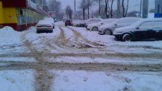 В Смоленске привлекли дополнительные ресурсы по расчистке города от снега