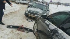 В Смоленске ищут очевидцев лобового столкновения «Приоры» и «Ауди»
