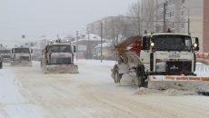 Мэрия Смоленска отчиталась об уборке снега с улиц города