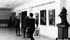 В Смоленске «последователя» вора из Третьяковки сняли на видео