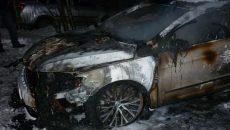 Под Смоленском сгорел Volkwagen Passat