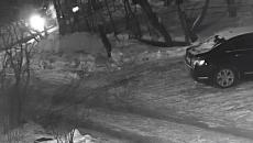 Жёсткую лобовую автоаварию на улице Лавочкина в Смоленске сняли на видео