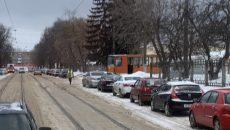 В Смоленске по требованию ГИБДД изменили правила заезда трамваев в депо