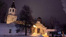 В Смоленске силовики оцепили храм на улице Кашена