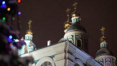 В Смоленске прошёл новогодний молебен в Свято-успенском соборе