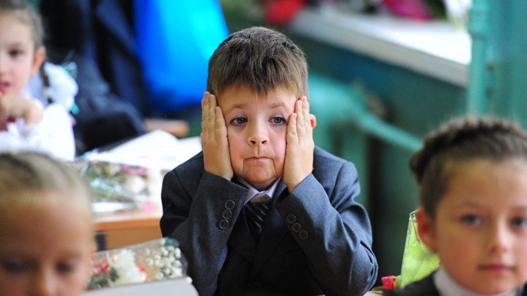 первоклассник, школьник, 1 сентября (фото bykvu.com)