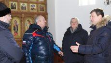 Писатель Александр Проханов посетил храм Вознесения Господня в Смоленской области