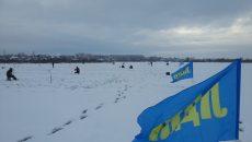 Под Смоленском сняли на видео бурение лунок для рыбалки на скорость
