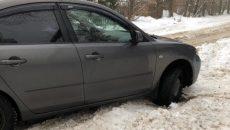 В Смоленске 10-летний школьник пришел на помощь автоледи, которая застряла в снегу