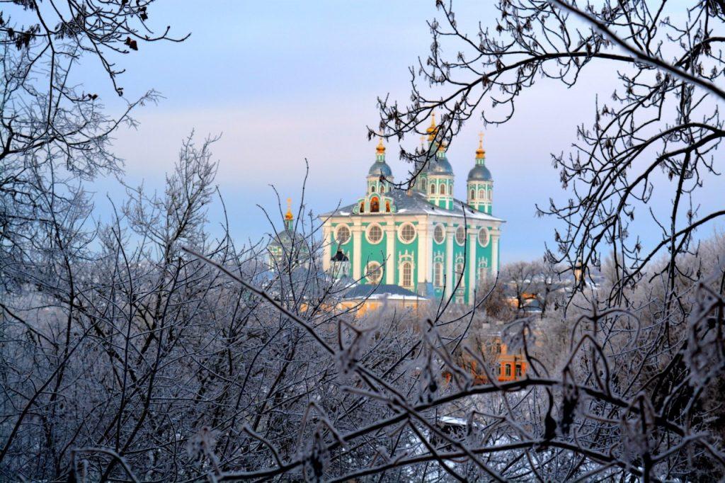 собор зима мороз