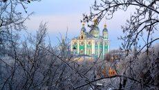 В Смоленске ожидается морозное Рождество