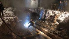В Смоленске ликвидированы все последствия порыва паропровода на улице Индустриальной