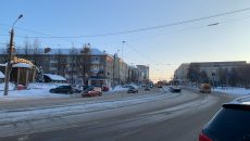 Обрыв контактной сети в центре Смоленска остановил движение трамваев