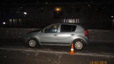 В Смоленске молодой водитель на иномарке сбил пешехода