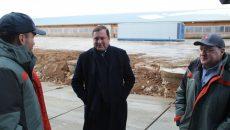 Алексей Островский ознакомился с ходом реализации крупного инвестпроекта «Тропарёво-Сычёвка» в Смоленской области