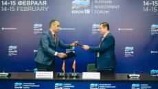 Алексей Островский подписал соглашение о строительстве завода в Вязьме