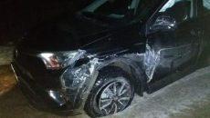 29-летний водитель иномарки получил травмы в аварии под Смоленском