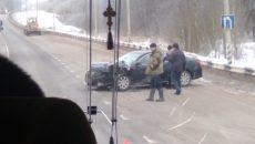 На трассе Р-120 под Смоленском произошло серьёзное ДТП