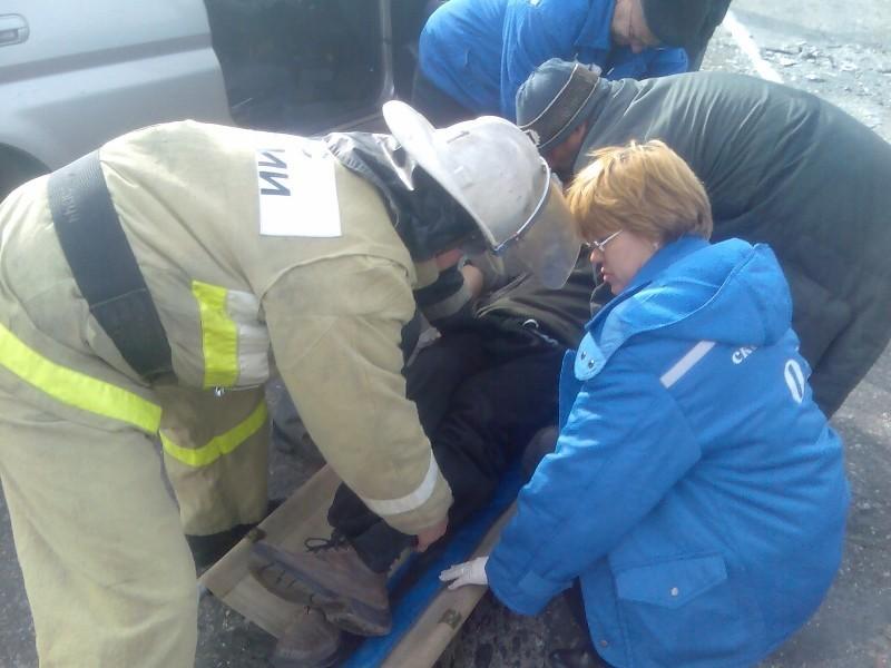 ДТП, МЧС, медики, скорая, пострадавший (фото 67.mchs.gov.ru)