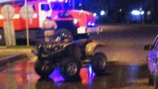На улице Николаева в Смоленске квадроцикл врезался в иномарку