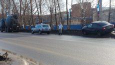 «Подвинул»: в Смоленске произошло ДТП с легковушкой и бетономешалкой