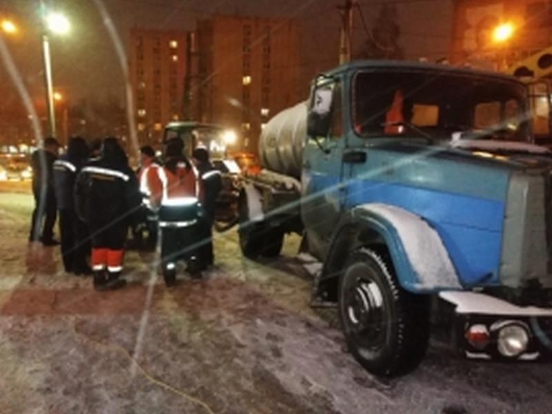Горводоканал, ремонт, улица 25 Сентября (фото 67.mchs.gov.ru)