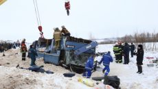 Документы о техническом состоянии попавшего в ДТП смоленского автобуса вызывают сомнение в подлинности