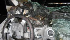 В Смоленске авто загорелось возле пожарной части
