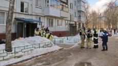 Эвакуацию жильцов, работу спасателей и газовиков в Смоленске сняли на видео