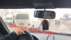 На улице Кутузова в Смоленске столкнулись две грузовых машины