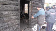 Под Смоленском ранее судимый местный житель сжёг мужчину и женщину