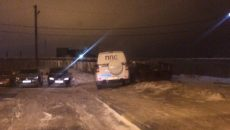 В Смоленске МВД проверит парковку патрульной машины на тротуаре