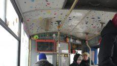 В Смоленске на маршрут вышел «звёздный» троллейбус-«патриот»