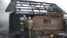 В сети появились фото пожарища в Смоленске, к которому привели детские игры с огнём