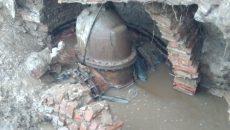 Стало известно, когда устранят аварию на водопроводе в Промышленном районе Смоленска