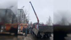 В Смоленске торговый павильон снесли за счёт владельца