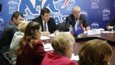 Игорь Ляхов провел в Смоленске общественное обсуждение новой системы обращения с твердыми коммунальными отходами