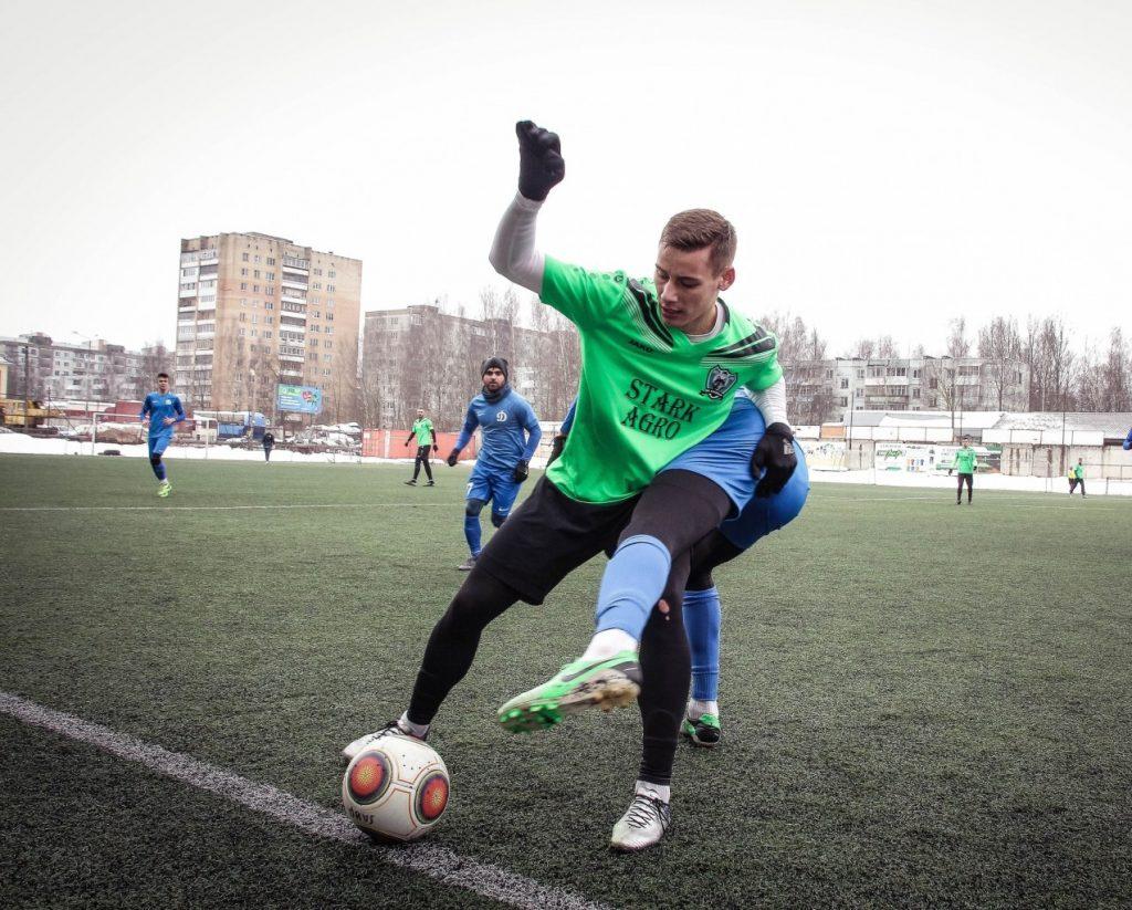 Смоленские футболисты уступили «Соколу»