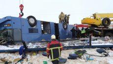 Суд продлил арест водителю автобуса, в котором погибли смоленские дети