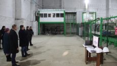 Алексей Островский принял участие в открытии нового завода лесозаготовки в Угранском районе