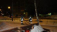 Под Смоленском на центральной площади загорелась котельная